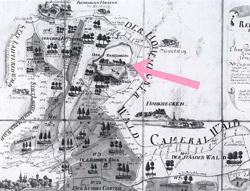Reichswaldkarte